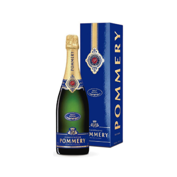 Pommery – brut royal de 750 ml en caja