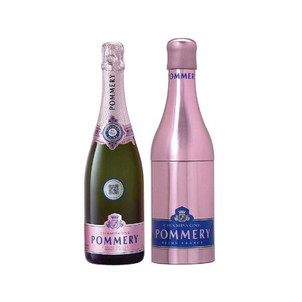 Pommery – brut rose royal metal de 750 ml
